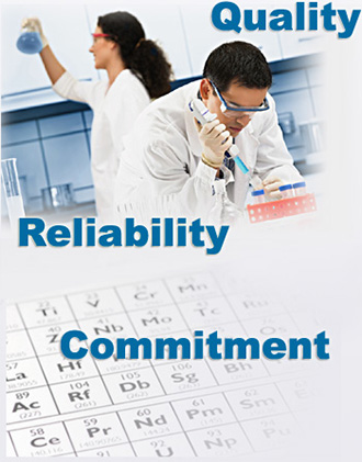Trace Sciences is committed to providing our customers a product guarantee of quality and reliability of service.